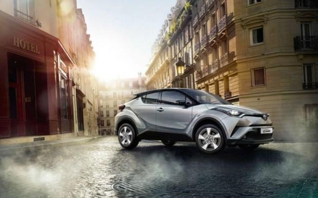 Выгодное предложение на автомобили Toyota C-HR с объемом двигателя 1,2 л