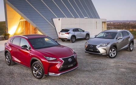 Выгодные ценовые предложения на гибридный кроссовер Lexus NX