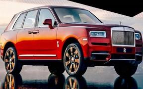Выпустили дух: фото кроссовера Rolls Royce «сбежали» в сеть
