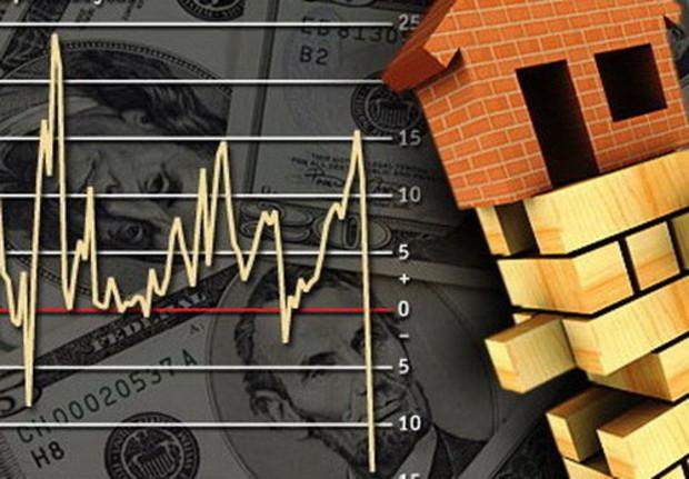 За год компании, которые занимаются строительством зданий, сократили объем работ на 54,5%
