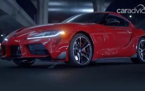 За три дня! Toyota Supra «сдали» до дебюта. ВИДЕО