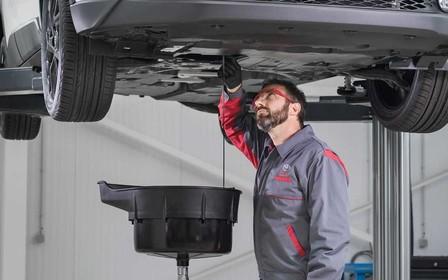 Заміни оригінальну моторну оливу Toyota вигідно