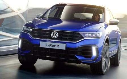 «Заряженный» Volkswagen T-Roc R не уступит в скорости Golf R