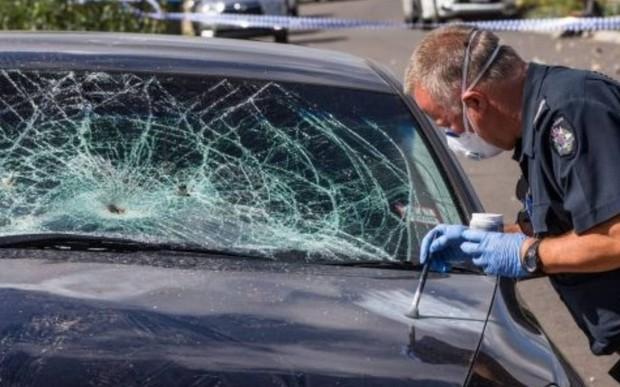Зеленая ярость. Активисты разбили 40 машин, подготовленных к Франкфуртскому автосалону