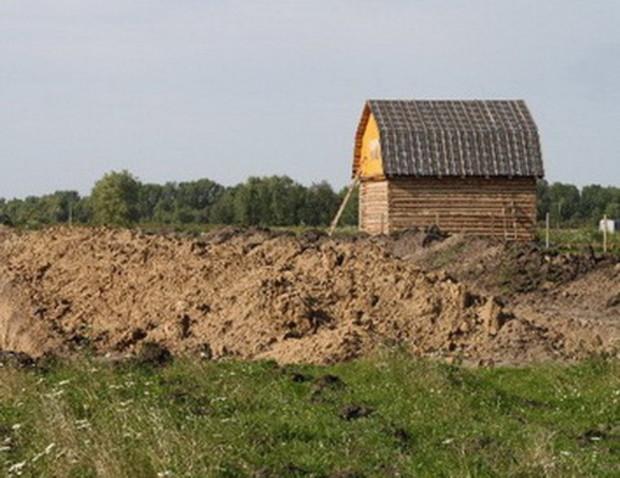 Земельные участки, удаленные от Киева, перестали интересовать покупателей