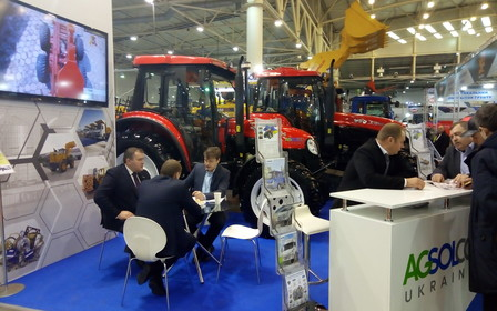 «Зерновые технологии» - «Агсолко Украина» представила разнообразную технику для агросегмента