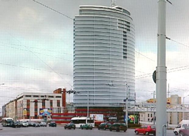 Жилой комплекс «Парус» в Минске станет первым небоскребом Белоруссии