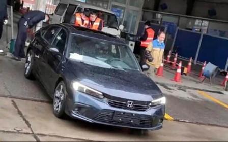 «Живе» фото наступного Honda Civic. Як вам це подобається?