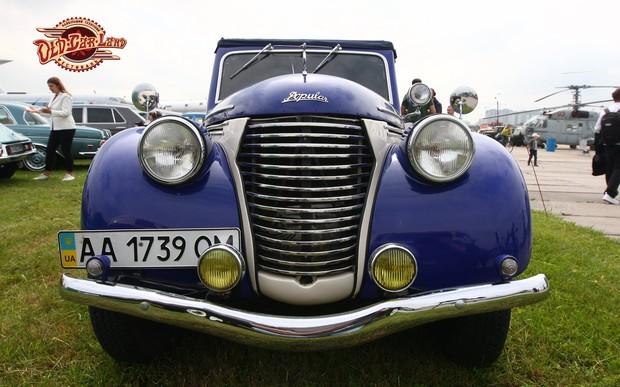 ЗИЛ Щербицкого, Bentley Кеннеди и старейшая украинская мототехника - состоялся 12-й фестиваль ретротехники OldCarLand!