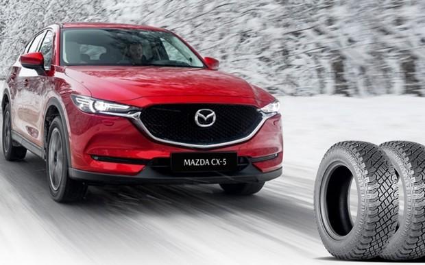 Зимові шини кожному покупцю Mazda!