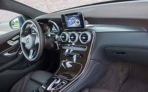 Mercedes GLC Coupe interior