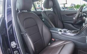Mercedes GLC Coupe interior