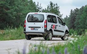 Peugeot Partner 4x4 Dangel ext