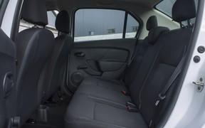 Renault Logan интерьер