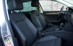 VW Passat interior