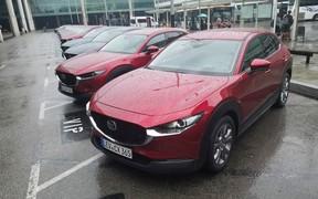 Mazda CX-30 rain