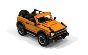Ford Bronco LEGO