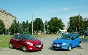 Peugeot 208 & VW Polo - вместе