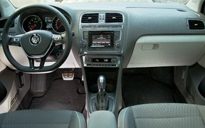 VW Polo - салон
