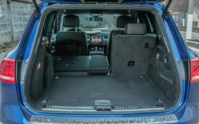 VW Touareg - багажник