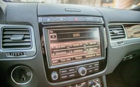 VW Touareg - мультимедиа