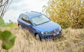 VW Touareg - проходимость