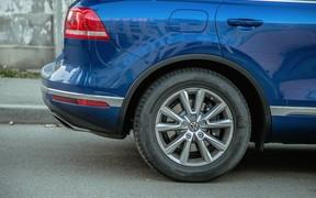 VW Touareg - подвеска