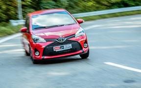 Toyota Yaris - драйв