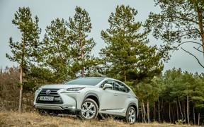 Экстерьер Lexus NX Hybrid