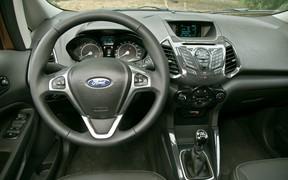 Ford Ecosport салон
