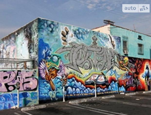 Дома в Киеве запретили разрисовывать граффити