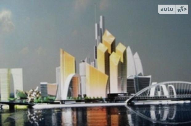 На Рыбальском острове построят комплекс небоскребов «Киев Сити»