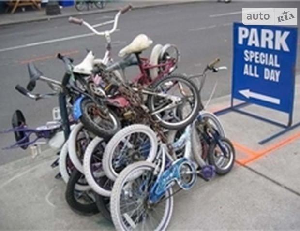 Скоро в столице появятся бесплатные велопарковки