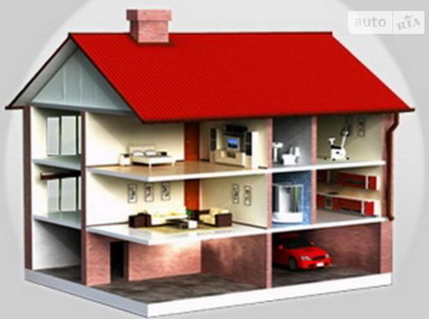 Средняя стоимость загородного дома в Киевской области в июле составила 555 у.е./кв. м