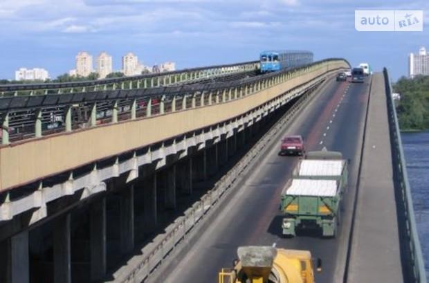 Строить мост Метро в Киеве начнут уже 1 марта