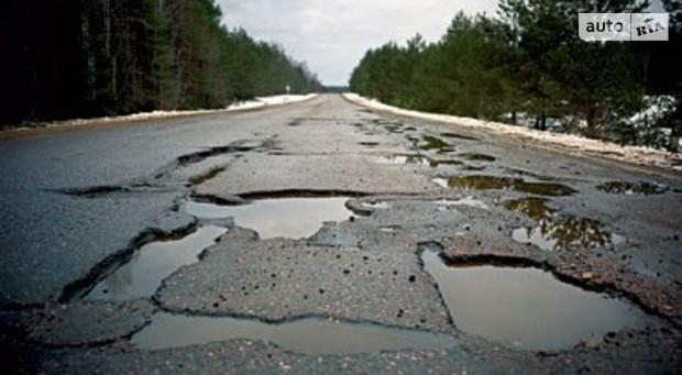 В этом году на ремонт дорог Кабмин даст 10 млрд грн