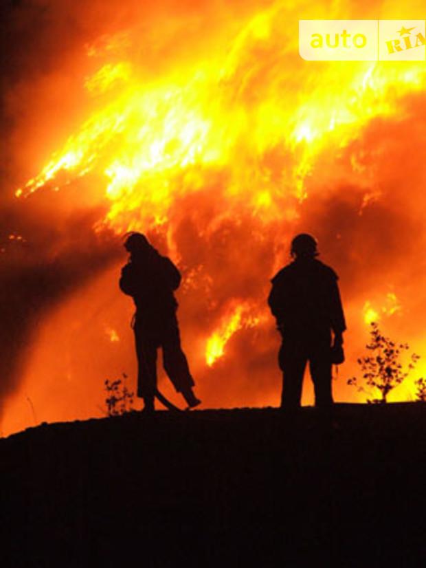 В Киеве горели магазины Форы