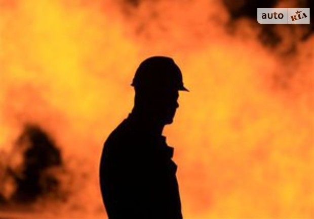 В Киеве горело здание СБУ