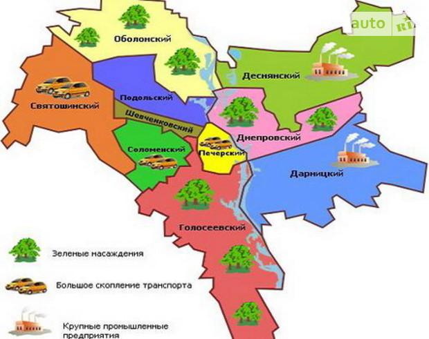 В Киеве может уменьшиться количество районов