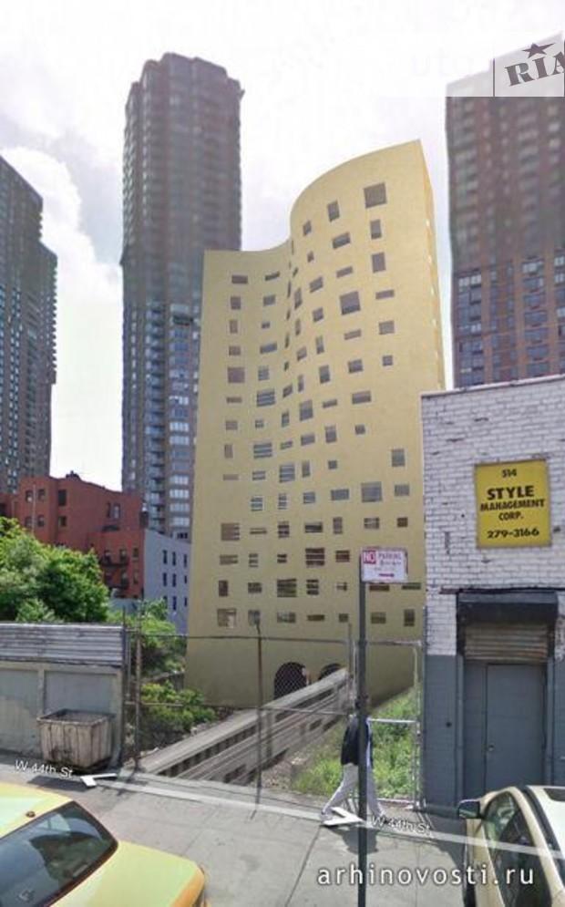 В Нью-Йорке появилось здание в виде фортепьяно
