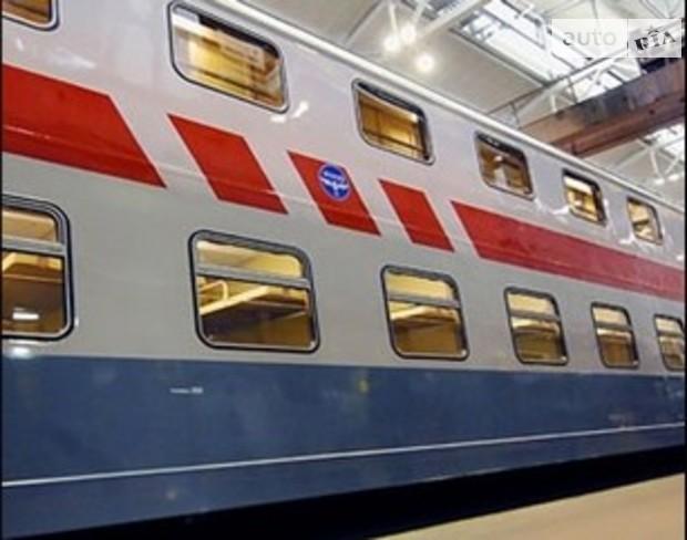 В Украине появятся 2-этажные поезда