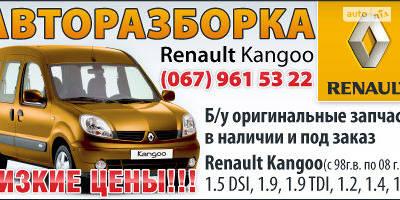 Авторазборка Renault Kangoo